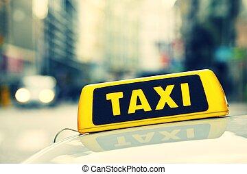 táxi,