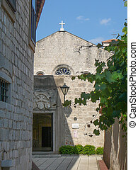 St Francis convent in Punat in the island of Krk Croatia