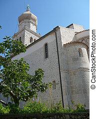 Krk Cathedral in Croatia, Europe