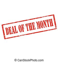 Deal Of The Month-stamp
