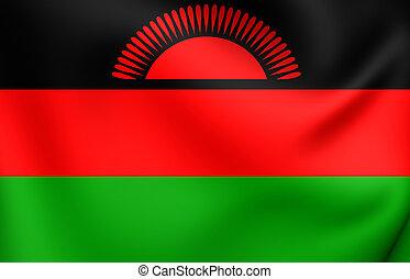 Flag of Malawi Close Up