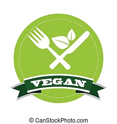 vegan menu design, vector illustration eps10 graphic