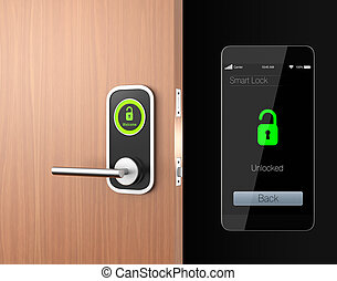 Smart lock concept original design