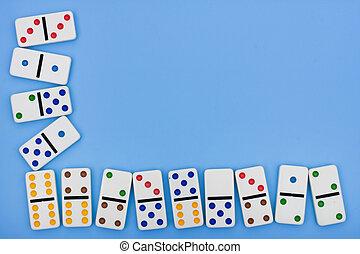 domino, borda