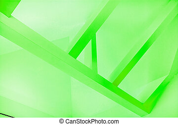 Ceiling frame - Image of green ceiling frame