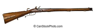 Jager flintlock rifle - 18th Century replica short barrel...