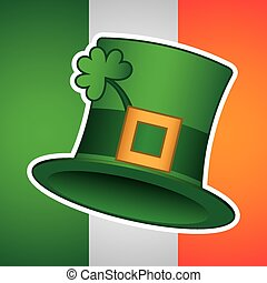 saint patrick day design, vector illustration eps10 graphic