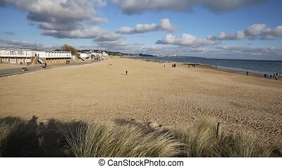 Sandbanks beach Poole Dorset uk - Sandbanks beach Poole...