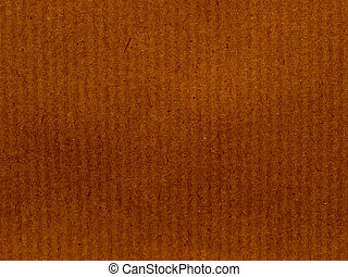 Brown paper background - Blank sheet of brown paper useful...