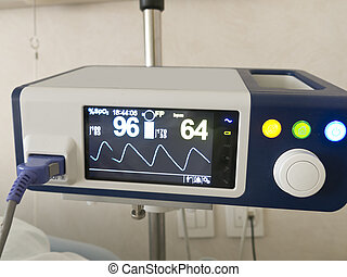 system anapnotherapy Monitor with health data based, at the...