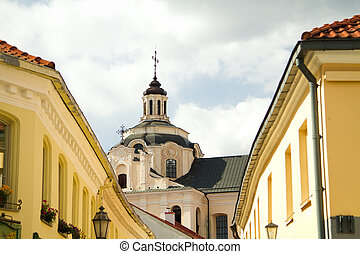 Vilnius city Beautiful European city