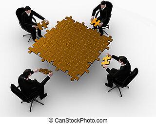 Golden team puzzle