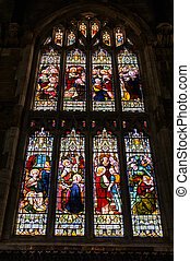 stained glass windows - Holy Trinity Church, Stratford -...