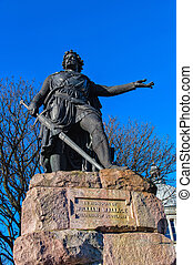 William Wallace statue in Aberdeen,Scotland