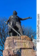 William Wallace statue in Aberdeen,Scotland