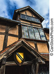Stratford Shakespear - William Shakespeares Birthplace,...