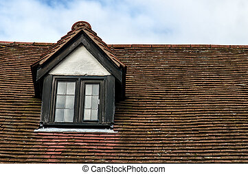 Garret Roof - Detail of Garret Roof in England