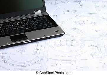 Computer aided design of mechanical engineering drawings