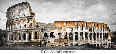 Great Rome -  Panorama of Colosseum