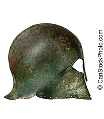 Grecian helmet original - Grecian warriors original antique...