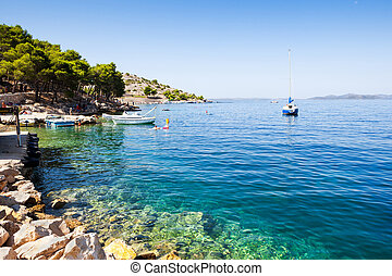Sailing Croatia's Adriatic coast