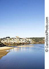 Tejo river  and Constancia village