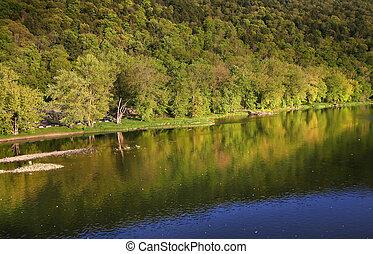 Scenic Pennsylvania Landscape - Scenic landscape in...