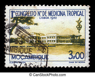 Miguel Bombarda Hospital in Lourenco Marques, Mozambique