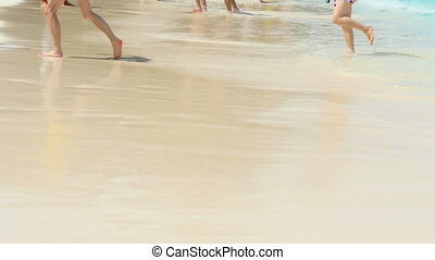Waves on the Beach - Beach of Ko Miang island, number 4 of...
