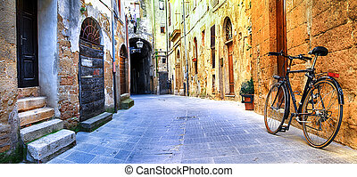 Pitigliano,Tuscany,Italy - pictorial streets of old Italy...