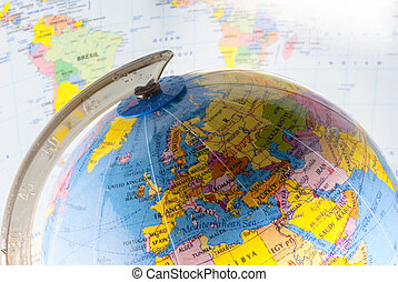 Political geography - study geography, oceans, countries and...