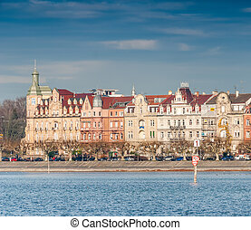 Konstanz skyline and buildings, Germany