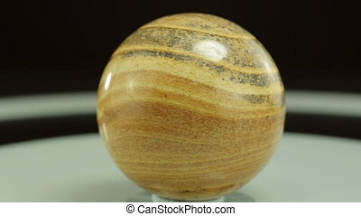 Picture jasper stone sphere - Picture jasper ball is...
