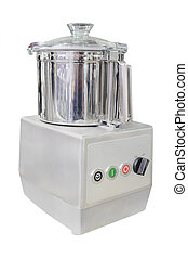 image of food processor under the white background
