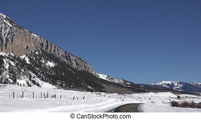 Crested Butte Mountain Pan - A look at the mountain in good...