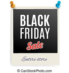 Black friday - Black Friday discounts on the photo frame...