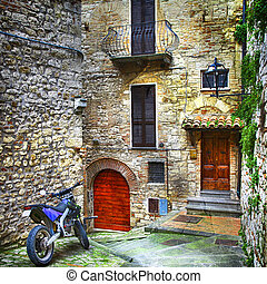 characteristic villages of Italy - medieval towns of Italy