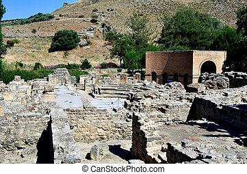 Archaeological site of Gortyn, Crete