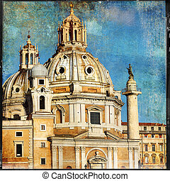 great antique Rome - vintage cards series