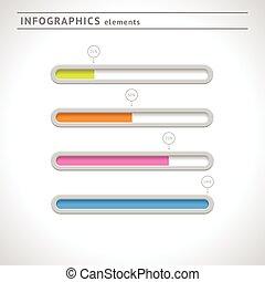 Download bars and progress indicators