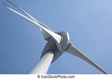 Windturbine - Close up of windturbine