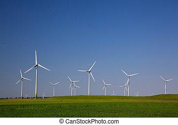 viento, turbinas,
