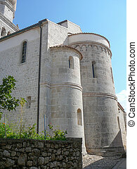 Krk Cathedral in Croatia, Europe