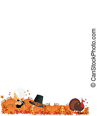 Lil Pilgrim girl in Pumpkin Patch - Lil Pilgrim girl in...