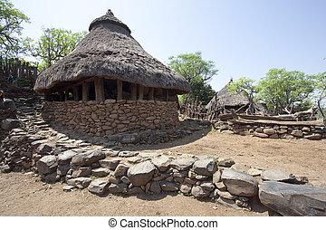 Karat Konso - Traditional Ethiopian village Karat Konso...