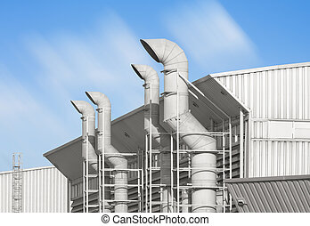 vent - Ventilation system of factory.