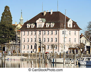 Historic building Lindau - Historic building at the harbour...
