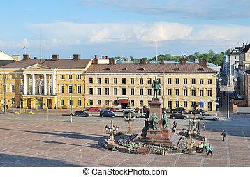 Helsinki, Senate Square