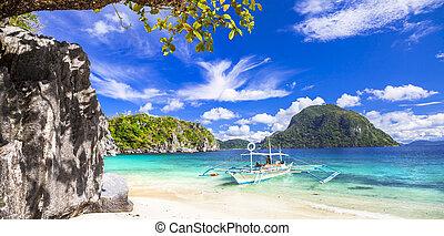 Palawan, Philippines - tropical scenery of Palawan