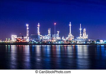 aceite, refinería,